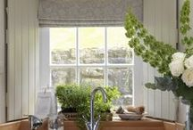 Window treatments / Curtains, shutters, tie backs - whichever window treatment floats your boat, we've got inspiration for you right here