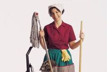 cleaning made easy? / by Leslie Hunewill