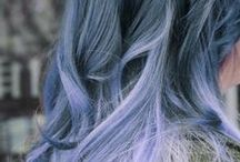Colorful Hair! / Any and every wacky hair color you can think of! I have another board for the average colored hair. Check it out too! / by Haley Leanne