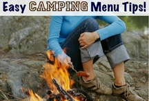 {camping goods} / ideas, tips, tricks, menu ideas, etc. for camping