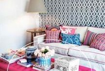 Layered Patterns | Home Decor / A collection of decor ideas by NYC lifestyle blogger Anna Osgoodby.  New York City, NYC, Manhattan, Visiting New York City, NYC Blogger, New York Blogger, home decor, home tour, living in nyc, new york apartment, nyc apartment, small spaces, small apartment, interior design,
