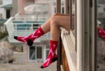 Sock it to me! / Womens Stance Socks - Stance socks are expertly crafted using the finest quality combed cotton, and are one-of-a-kind for their original design, comfy fit, and lasting durability. The women's combed cotton socks are created using a balanced mixture of cotton and spandex. What's not to love?  / by Sunglass Garage