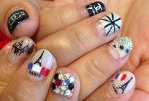 National Pride Nail Art