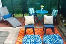 Outdoor Space | Small Spaces / A collection of tips and decor ideas by NYC lifestyle blogger Anna Osgoodby for small outdoor spaces.  New York City, NYC, Manhattan, Visiting New York City, NYC Blogger, New York Blogger, home decor, home tour, living in nyc, new york apartment, nyc apartment, small spaces, small apartment, interior design, backyard, small backyard