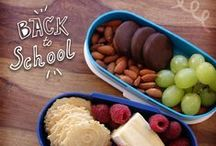 "Back to School / Get ready for ""back-to-school"" with delicious lunchbox ideas, clever tips and ideas.  / by 34 Degrees"