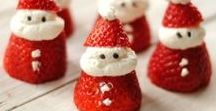 Holiday Food Crafts / Fun recipe options that celebrate the holiday season.