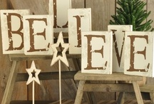 A Rustic Burlap Christmas / by Melissa Hurdle