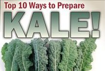 !!Food ~ Kale / King Kale - lots of delicious ways to prepare this beautiful green.