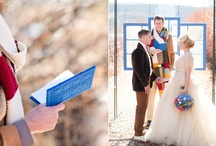 """Doctor Who Wedding / Original pinboard for """"All of Time and Space"""" Doctor Who themed editorial by Jakfoto Films and Candice Benjamin Photography - featured on Green Wedding Shoes http://bit.ly/gws_doctorwho"""