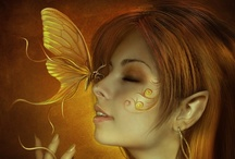 Fairies & Fantasies / Here's where I let my imagination go completely wild and unchained. What fun we can have in our minds. Enjoy with me.