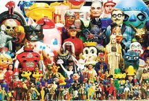 Go Figure / Vinyl toys and action figures I wish I had.