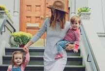 Mama Style / Gorgeous style ideas and fashion inspiration for mums and moms including maternity wear ... plus hair and beauty