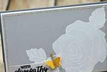 Stampin' Up!® - Sympathy Cards