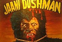 Foreign Horror Posters / Indian, African and other hand painted horror movie posters!