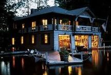 Adirondack Cabins & Lodges / by Adirondack Mountains