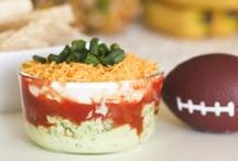 Game Day / Football food ideas, football party tips, and more! You can find great Super Bowl ideas for Super Bowl parties, Super Bowl recipes, and Super Bowl game ideas!