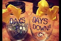 Count Down Ideas / When incarceration is nearing the end, fun ways to count down the days!