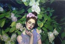 Malcolm Liepke Artwork / by meghan a. mckee