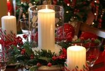 Celebrations: Christmas Decorations / Love making home a cosy Christmas haven! / by CMClaire