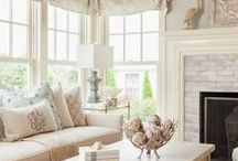 *Live and Lounge* / Family and living rooms ... the place to gather together. / by *Melissa Miller*