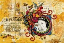 My Digital Scrapbook Art / Layouts I made using Digital Scrapbooking stuffs / by Gloria Angeline