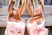 """Shoes. Shoes. Shoes. / """"Give a girl the right shoes, she can conquer the world."""" -Marilyn Monroe / by Alison Catherine"""