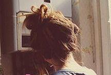 curls. cuts. updos.  / by Erika Hackmann