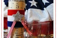 summer time! / summer decor, memorial day, 4th of july, coastal, recipes, etc.