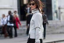 fall + winter wardrobe. / by Erika Hackmann