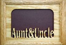 ♥AUNTIES & UNCLES♥ / IDEAS FOR AUNTIES & UNCLES / by Naomi Woods