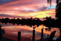 """Cape Coral / No other city boasts more canals than Cape Coral. Known as """"The Cape"""" by locals, this easygoing waterfront community is naturally big on the boating lifestyle. Off the water, a variety of restaurants, stores and kid-friendly attractions help make the biggest city in Lee County feel accessible and well rounded.  / by The Beaches of Fort Myers & Sanibel Florida"""