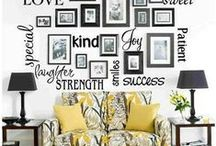 WALLS / Painting ideas, decorations, storage / by Nancy Eckert