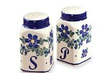 Salt &  Pepper Shakers / For America's most popular spices! / by Kathy Norton