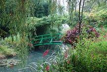 Monet Gardens Giverny France