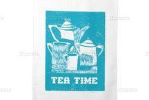 Kitchen Towels / Kitchen Towels; Tea Towels