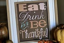 Thanksgiving / From food to decor to games. If you live for Thanksgiving, you've found the right board.