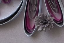 Quilled paper crafts