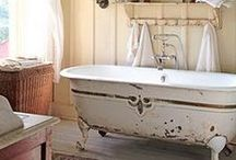 Architecture and Interior Design. / I have a slight obsession with claw-footed tubs and grandma porches.  / by Amanda Katzer