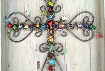Crafts of Beading/Buttons & Jewelry  / by Kim Cavanaugh Schaffner