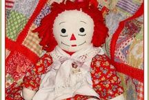 raggedy Ann  / I've always loved Raggedy Ann & have made many in my life time.. she always makes me smile.