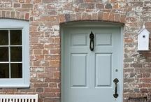 home { front door }