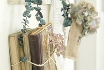 book it / i LOVE books.. old or new .. love to read .. love to decorate with them