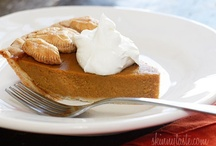 THANKSGIVING / An assortment of ideas, mostly food, for Thanksgiving!
