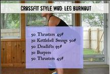 CROSSFIT WORKOUTS / Workouts and images devoted to CrossFit
