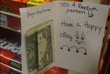 pay it forward & random acts of kindness
