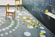 education { classroom makeover } / Yellow class 2015