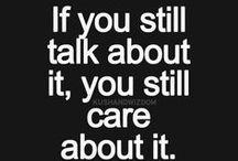 Something to say / A razão está sempre levando na carona a emoção.