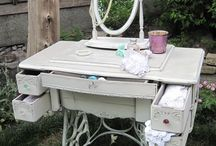 antique treadle sewing machine / what to do with my antique sewing machine?