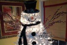 Árboles De Navidad Blancos / Ideas para decorar Árboles de Navidad Blanocs