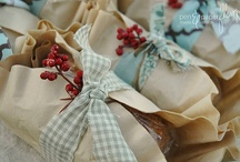 CRAFTY - That's a Wrap! / Fun ways to wrap gifts / by Jami Bova